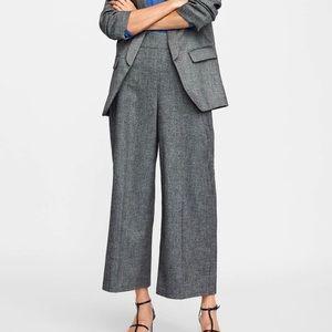Zara herringbone pants